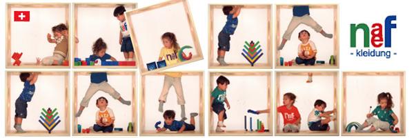 naefの子供服のイメージ